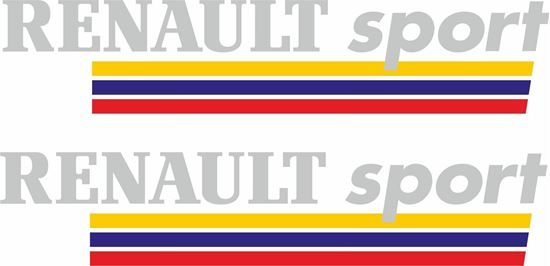 Picture of Renault Sport Decals / Stickers