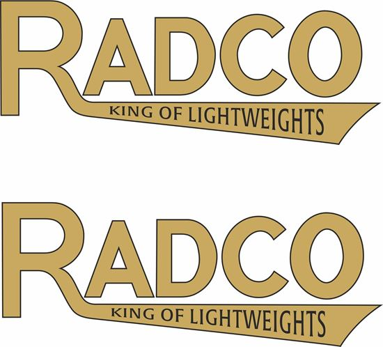 Picture of Radco Motorcycle Decals / Stickers