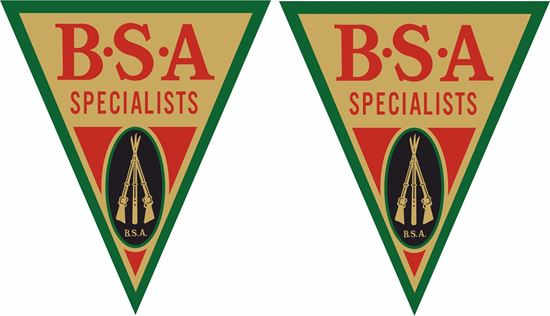 Picture of The BSA Specialists Decals / Stickers
