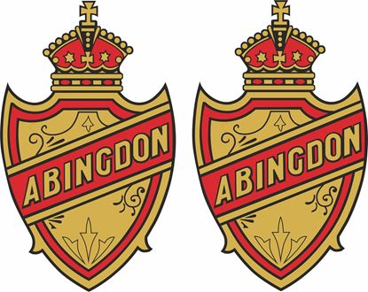 Picture of Abingdon Motorcycle Decals / Stickers