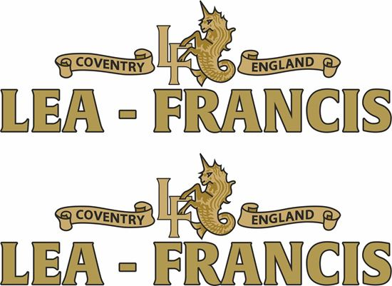 Picture of Lea - Francis Motorcycle Decals / Stickers