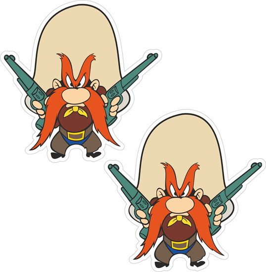 Picture of Yosemite Sam Decals / Stickers