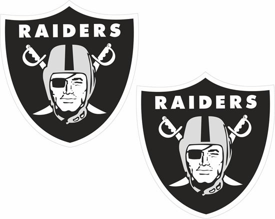 Picture of Raiders Decals / Stickers