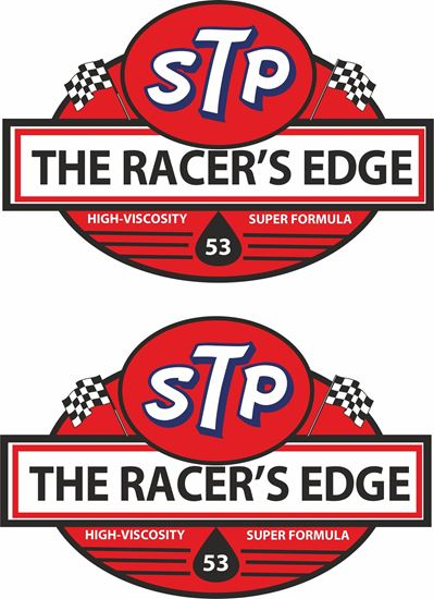 Picture of STP Racers Edge Decals / Stickers