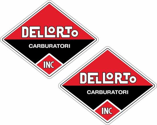 Picture of Dellorto Carburetor Decals / Stickers