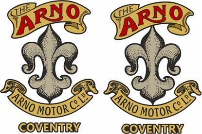 Picture of Arno Motorcycle Decals / Stickers