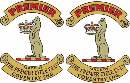 Picture of The Premier Decals / Stickers