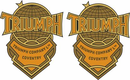 "Picture of ""Triumph Company Coventry Ltd"" Decals / Stickers"
