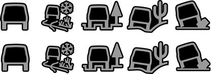 Picture of Land Rover All Terrain Response Decals / Stickers