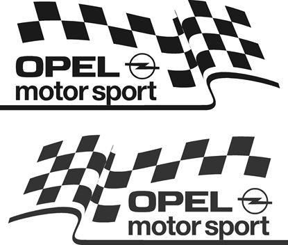 Picture of Opel Motorsport Decals / Stickers