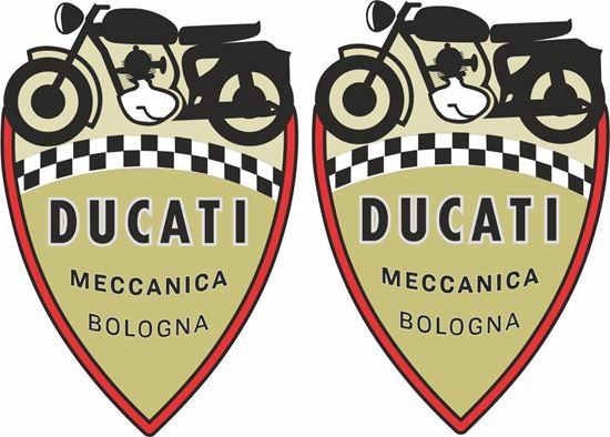 Picture of Ducati Maccanica Shield Decals / Stickers
