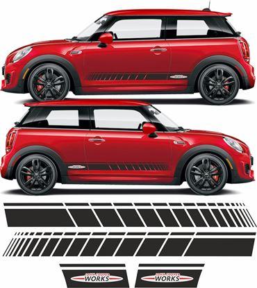 Picture of Mini R56 / R57 / R58 / R59 JCW side Stripes