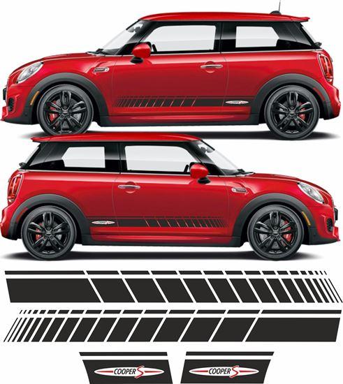 Picture of Mini R56 / R57 / R58 / R59 Cooper S side Stripes