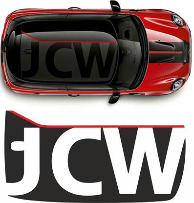 Picture of Mini F56 JCW Roof graphic / Sticker