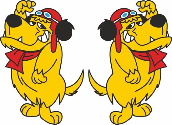 Picture of Mutley Decals / Stickers