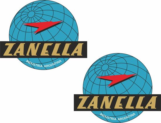 Picture of Zanella Motorcycle Decals / Stickers