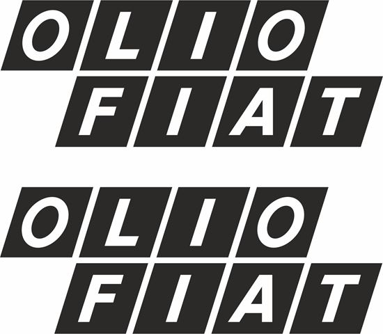 Picture of Lancia / Fiat 131 Olio Abarth Rally classic Stickers / Decals