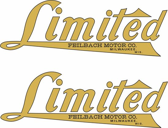 Picture of Feilbach Motor Co Motorcycle Decals / Stickers