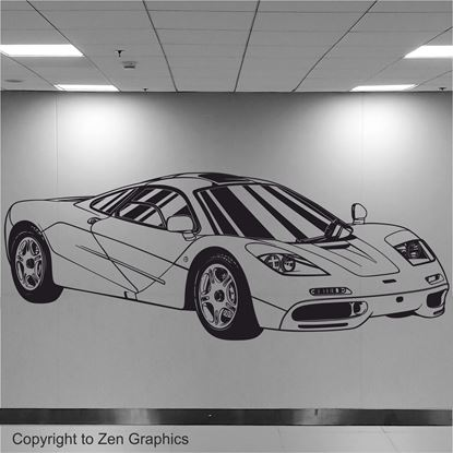Picture of Mclaren F1 Wall Art sticker