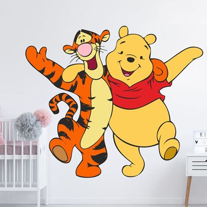 Picture of Winne the Pooh and Tigger Wall Art sticker