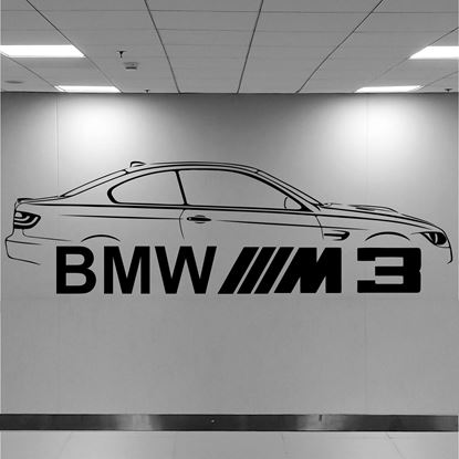 Picture of BMW M3 Wall Art sticker