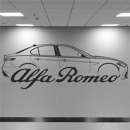 Picture of Alfa Romeo Giulia Wall Art sticker