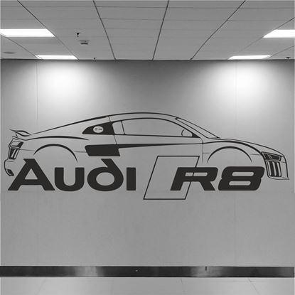 Picture of Audi R8 Wall Art sticker