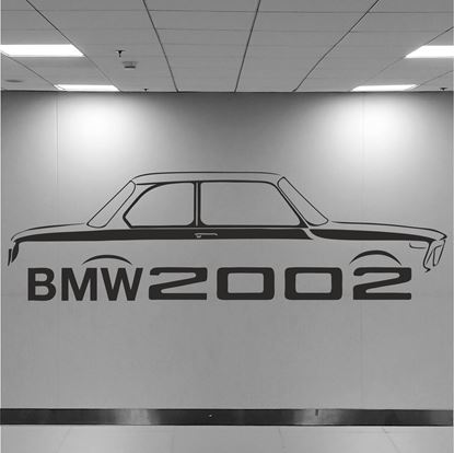 Picture of BMW 2002 Wall Art sticker