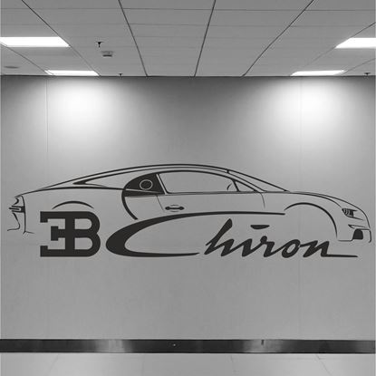 Picture of Bugatti Chiron Wall Art sticker