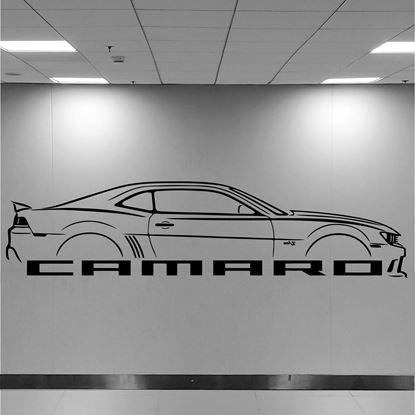 Picture of Chevrolet Camero Wall Art sticker