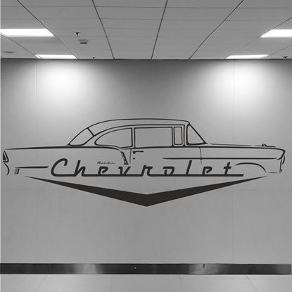 Picture of Chevrolet Bel Air Wall Art sticker