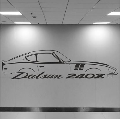 Picture of Datsun 240Z Wall Art sticker