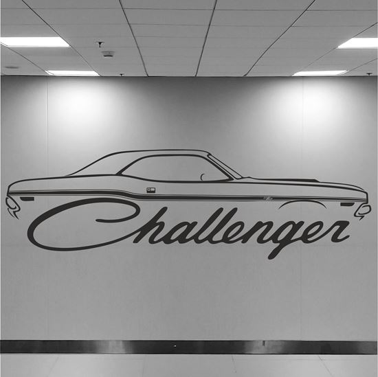 Picture of Dodge Challenger Wall Art sticker