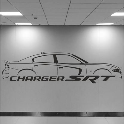 Picture of Dodge Charger SRT Wall Art sticker
