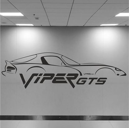 Picture of Dodge Viper GTS Wall Art sticker