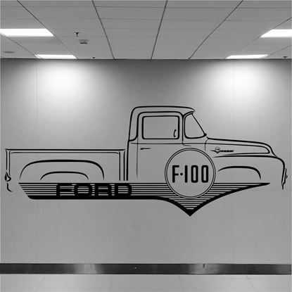 Picture of Ford F100 Wall Art sticker