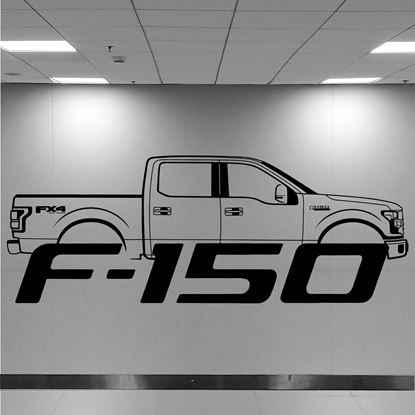 Picture of Ford F150 Wall Art sticker