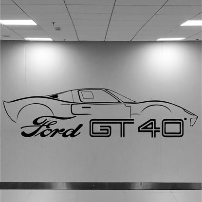 Picture of Ford GT40 Wall Art sticker