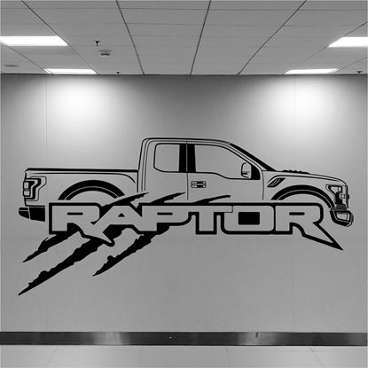 Picture of Ford Raptor Wall Art sticker