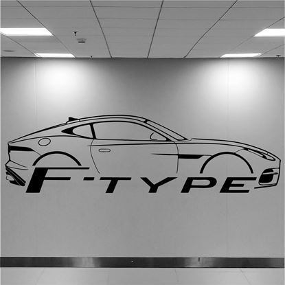 Picture of Jaguar F Type Wall Art sticker