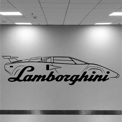 Picture of Lamborghini Countach Wall Art sticker