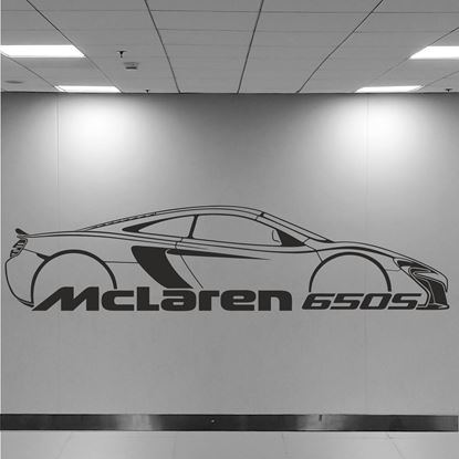 Picture of McLaren 650S Wall Art sticker