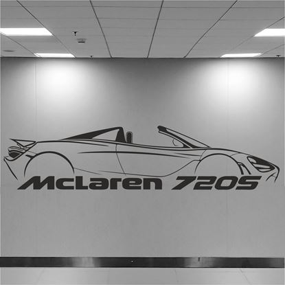 Picture of McLaren 720S Wall Art sticker