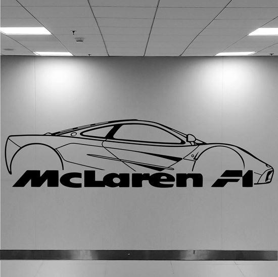 Picture of Mclaren F1 Wall Art sticker