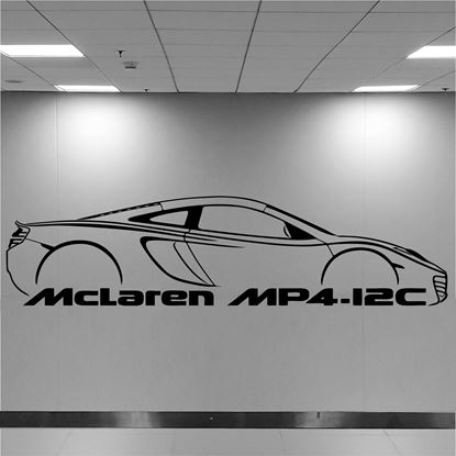 Picture of Mclaren MP4 Wall Art sticker