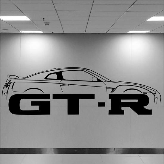 Picture of Nissan GTR Wall Art sticker
