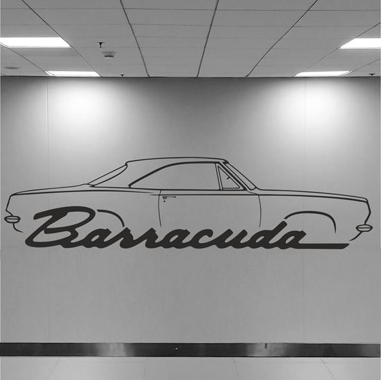 Picture of Plymouth Barracuda Wall Art sticker