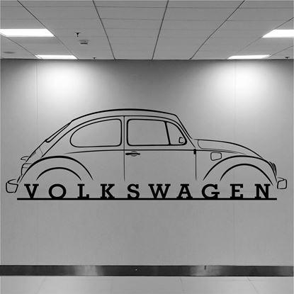 Picture of Volkswagen Beetle Wall Art sticker