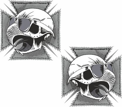 Picture of Iron Cross Eagle general panel  Decals / Stickers