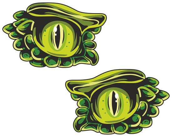 Picture of Eyes Decals / Stickers